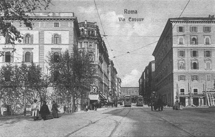 Via Cavour Anno: 1910