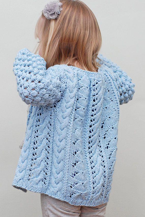 Helena Bean Cardigan  Knitting Pattern by JenniLansing on Etsy