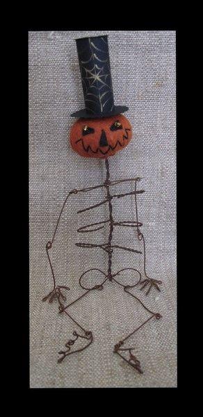 jack-skel: Diy Ideas, Pumpkin Head, Pumpkin Skeletons, Cakes, Skeletons Body, Whimsical Pumpkin, Wire Pumpkin, Jack Skel Pumpkin, Crafts