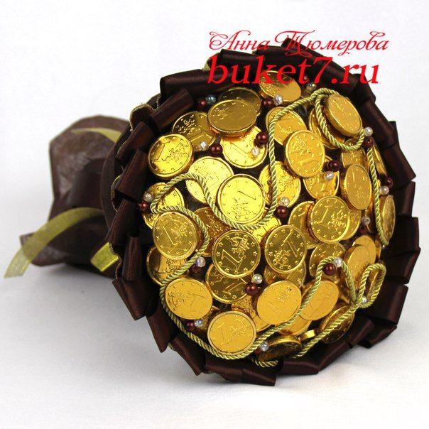 Букеты из конфет. Мастер-Классы от Buket7.ru