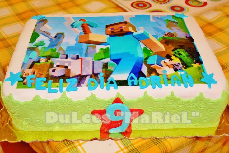 Torta Minecraft | Tortas Infantiles | Pinterest | Minecraft