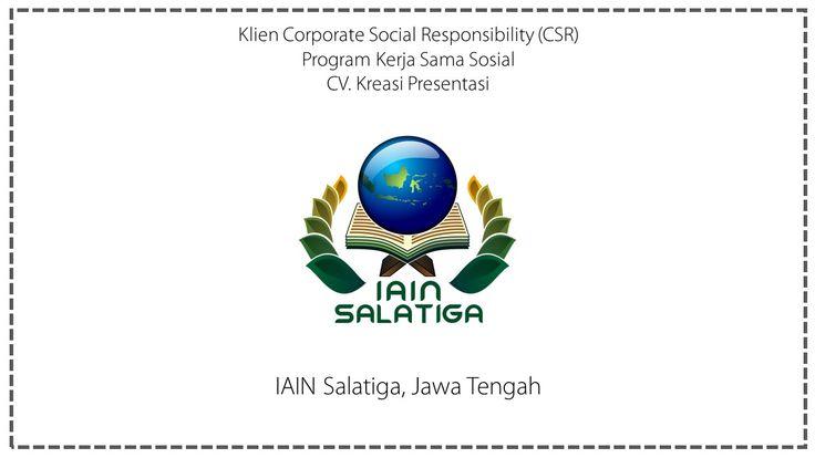 CSR IAIN Salatiga, Jawa Tengah