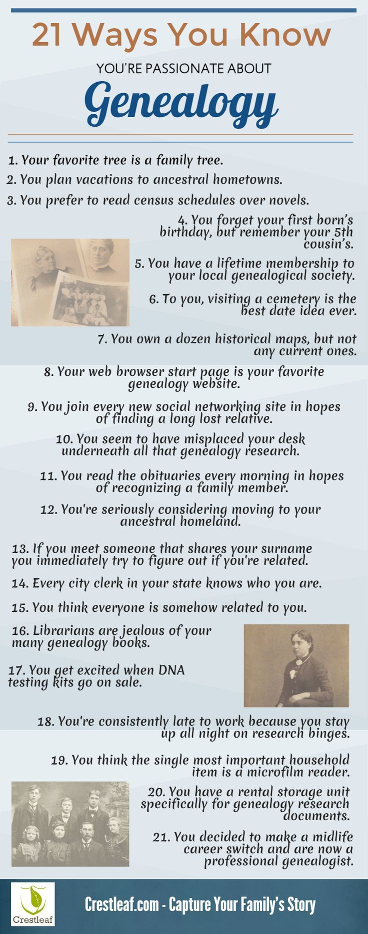 Quotes on the importance of history - Are You Family History Obsessed Our Infographic Tells You How To Know If You Re Passionate About Genealogy
