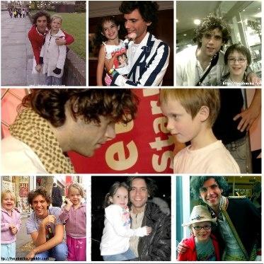 Mika and random children 2007-2009
