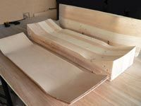 How to make a wood skateboard mold