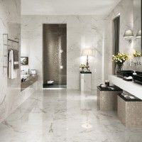 Marvel Calacatta Extra Gloss Glazed Ceramic Wall Tile 305x915mm