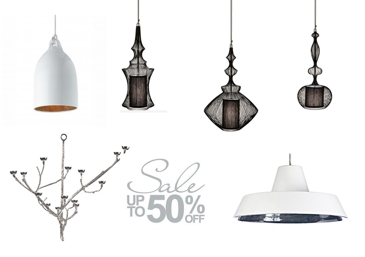 SALE- Pols potten ceramic celling light was $383 each, now $176.50. Forestier wire ceiling light (1) was $312, now $156. Forestier wire ceiling light (2) was $275, now $137.50. Forestier wire ceiling light (3) was $257, now $128.50. Pols Potten Twiggy candle holder (large) was $429, now $214.50. Pols potten ceramic ceiling light was $350, now $175. Come in now before everything goes.