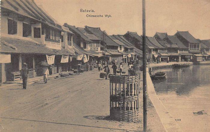 Nederlands-Indië met fotokaarten 68x