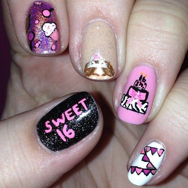 Instagram photo by vjcnails #nail #nails #nailart