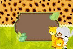 Super NOVIDADE! Lindo kit digital para fazer uma super festa com o tema Safari!                                                                                                                                                     Mais