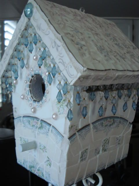 Enchanted Rose Studio: Broken China Mosaic Birdhouses and Design Inspiration