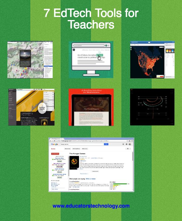 Tools for teachers educational technology and mobile learning free