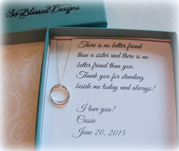Wedding Gift For Friend Sister : about Sister Wedding Gifts on Pinterest Wedding gift for sister ...