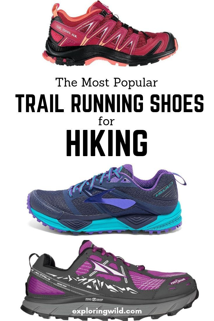 brand new fe8fb 43e84 Trail Running Shoes For Hiking: Everything You Need To Know ...