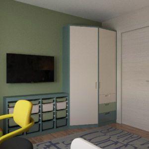 Интерьер квартиры выполнен в духе экостиля с элементами минимализма, а также лофта. Материалы использованные в отделке стен и полов имитируют натуральные.  Цвета коричневый и бежевый, мятный , бирюзовый и голубой, кирпич и плетенные ковры, натуральные ткани обвивки мебели и штор придают интерьеру колоритности, естественности, романтизма и в некоторой степени брутальности. Природные мотивы настраивают на отдых.