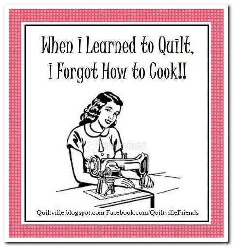 #Quilting When I Learned to Quilt, I Forgot How to Cook!!