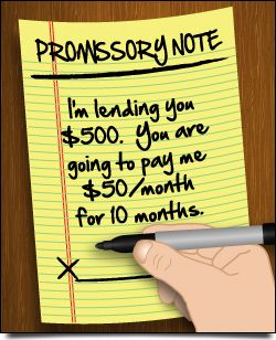 If you're lending to a relative or friend, you'll want to craft a written agreement. This free sample promissory note spells out how and when you are to be paid, and what happens if the borrower doesn't repay the loan