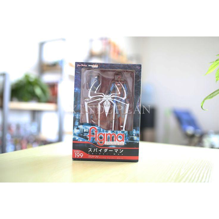 16.28$  Watch now - http://alikq9.shopchina.info/go.php?t=32659737364 - XINDUPLAN Marvel Shield Movie Avengers Spider Man Superhero Figma Action Figure Toys Comic Juguete 16cm PVC Kids Model 0199  #aliexpresschina
