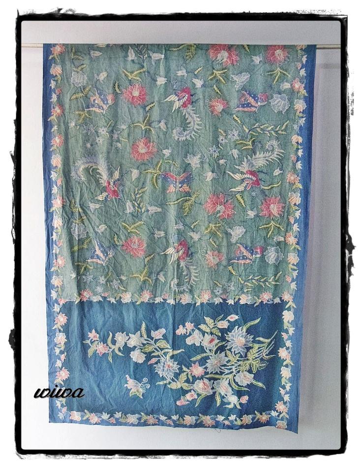 hand batik sarong from WIWA