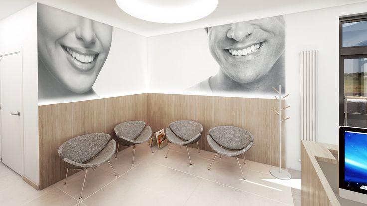 Poczekalnia gabinetu stomatologicznego