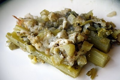Braised Celery with Bread Crumb Topping | Food I Want to Eat: Veggie ...