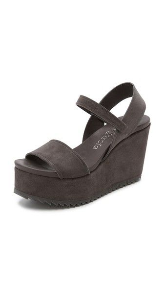 Pedro Garcia Dorothy Platform Wedge Sandals                                                                                                                                                                                 More