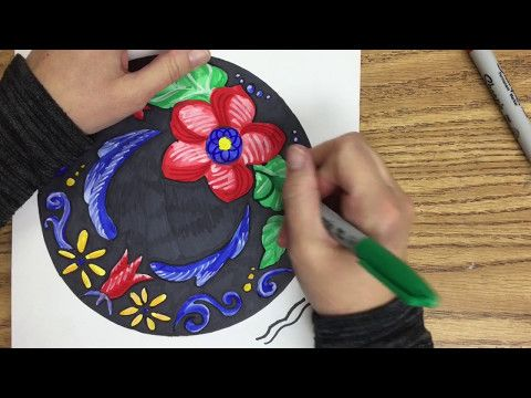 Rosemaling for Early Students 2 - YouTube