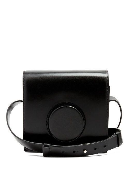 10cac32213 Lemaire Camera leather cross-body bag  blackcrossbodypurse ...