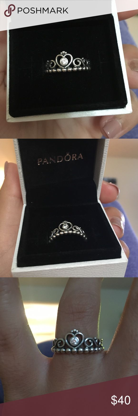 25 beste idee 235 n pandora princess ring price op