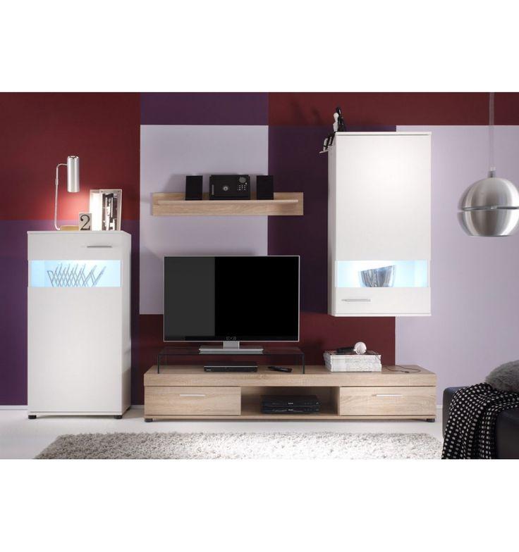 25 best ideas about ensemble meuble tv on pinterest for Ensemble salon sejour