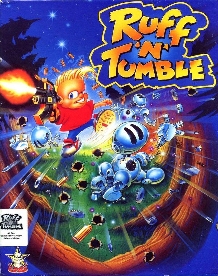 Ruff 'n' Tumble Amiga Front Cover Cover art, Retro gaming