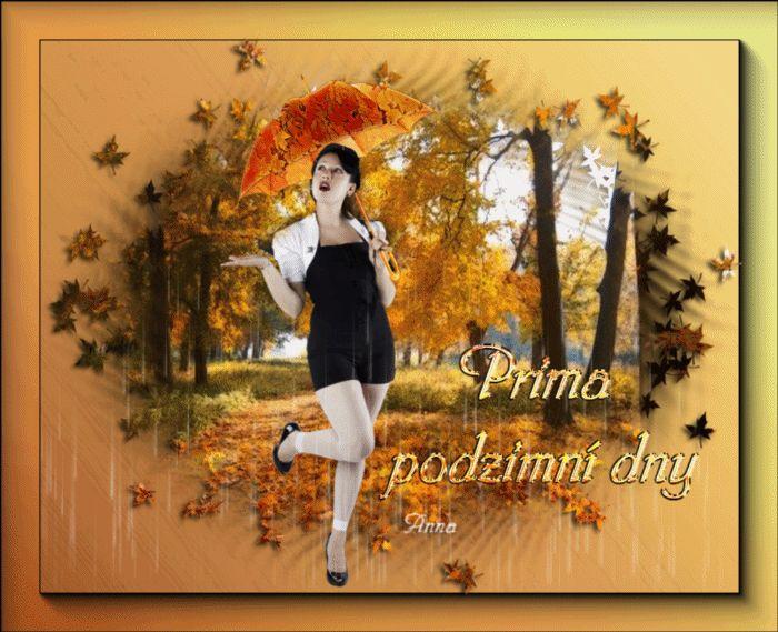 Jesenný dáždik :)