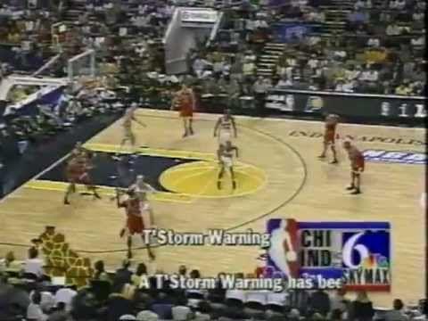 1998 ECF Bulls vs Pacers Michael Jordan Great Performance - YouTube