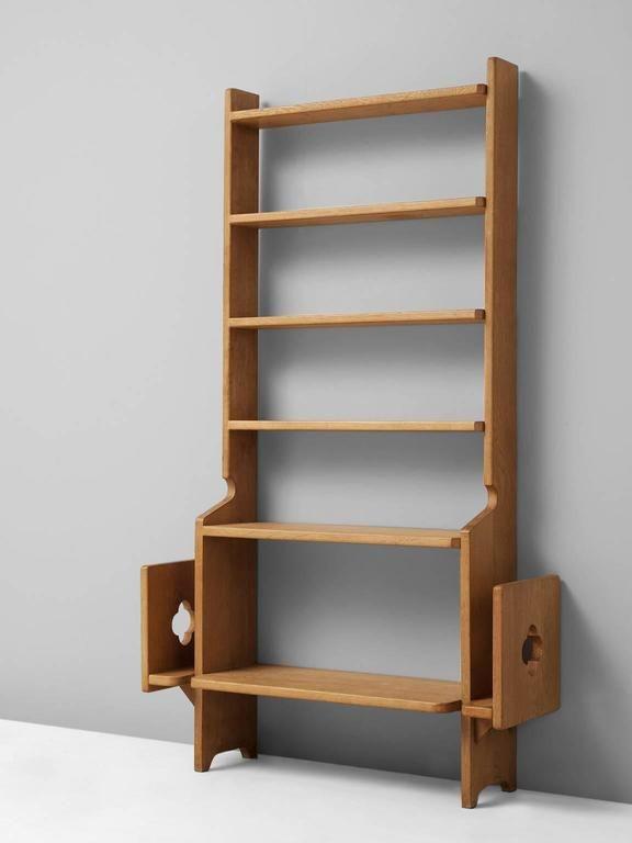 Guillerme Et Chambron Bookcase Solid Oakfurniture