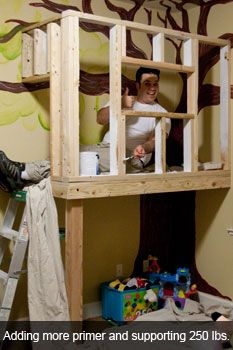 indoor tree house | Justin Ribeiro - Building an indoor tree house, part 1: the structure