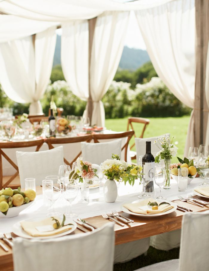 Gorgeous tent idea for out door weddings