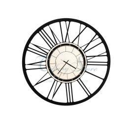 orologio da parete in ferro big nero arti e mestrieri 0or0709 www.tiffanystore.it