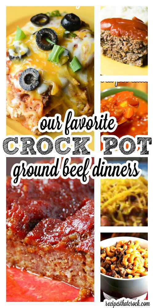 Crock Pot Ground Beef Dinners: Ground beef dinners are affordable, versatile and delicious! They also happen to be some of our favorite winter comfort foods. We love ground beef around here and all the great recipes you can make with it. So, we have rounded up our ground beef favorites just for you!