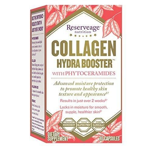 Reserveage - Collagen Booster Hydra Protect 500mg with Ceramides Advanced Moisture Protection 30 Capsule
