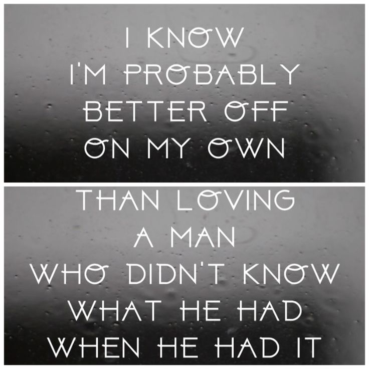 A Better Man ~ Little Big Town