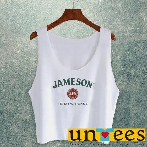 63afac6364e181 Women s Crop Top - Jameson Irish Whiskey – untees
