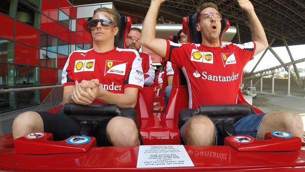 """Vettel:""""Kimi this is great! Raikkonen:""""ZZZZZZZZZZZZ!"""""""