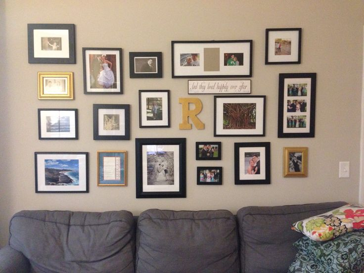 Our gallery wall