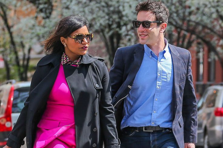 Mindy Kaling Boyfriend | Mindy Kaling Boyfriend B J Novak Pictures to pin on Pinterest