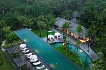 Komaneka at Bisma i Ubud på Bali