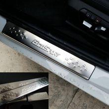 Auto-styling Rvs Instaplijsten Scuff Plaat auto-accessoires Voor Ford Ecosport 2013 2014 2015(China (Mainland))