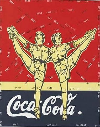 Great Criticism – Coca-Cola - Wang Guangyi - Neo-Pop Art, 2005