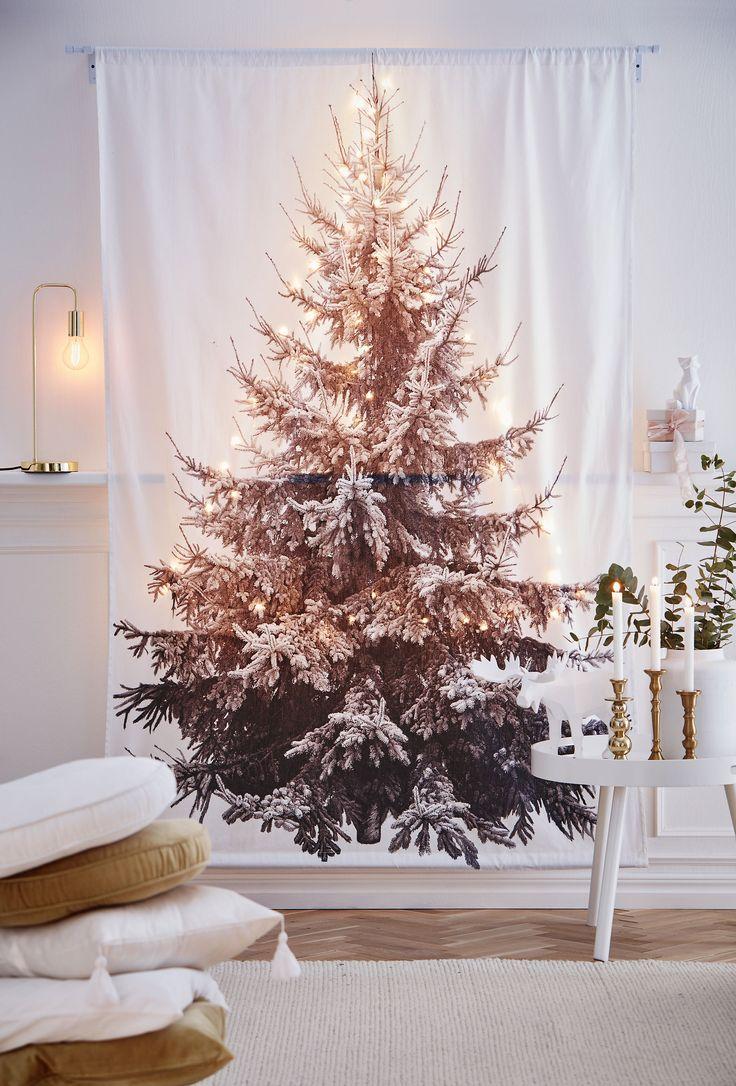 Har du inte platsen för en julgran? Vi har lösningen.