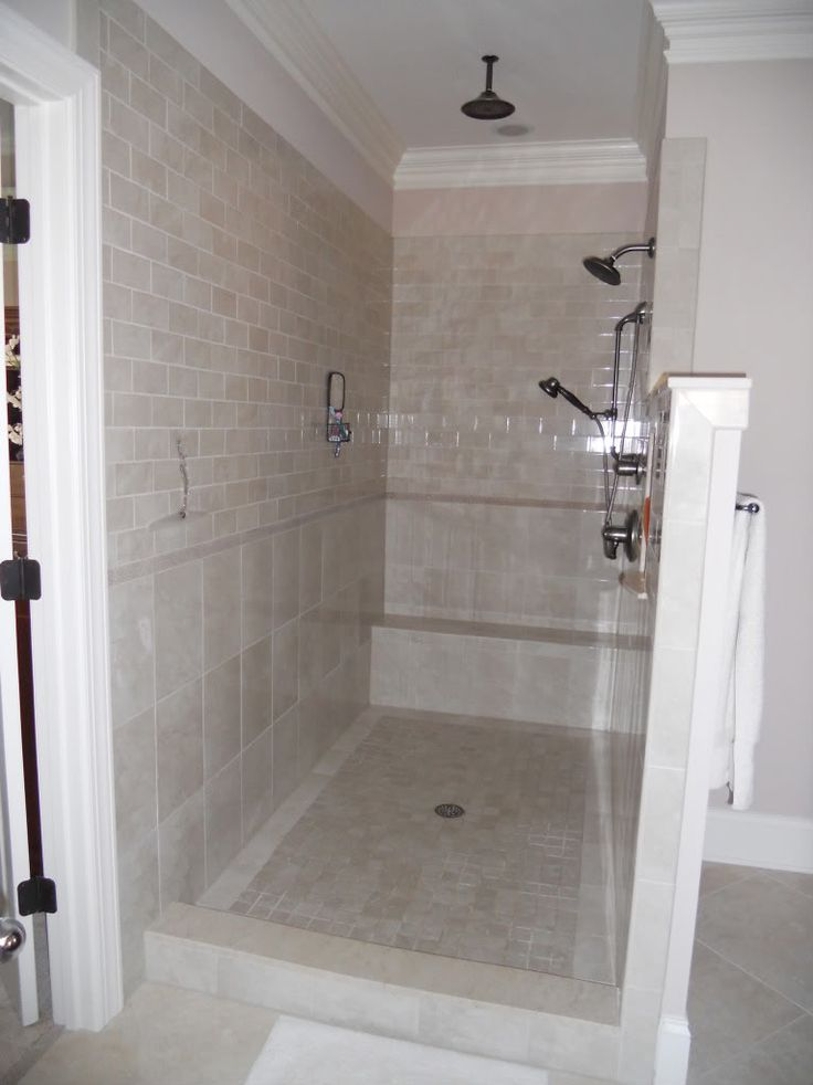 The biggest thing is making sure your shower spray direction is properly placed, you have enough depth to handle splash, and/or have a curb installed.    We opted to not do any glass in our shower--I didn't want to deal with cleaning it. We have all tile & we give it a quick squeegee after showering. Looks just like the day it was installed despite being used 3-5 times a day for the last 6 months.