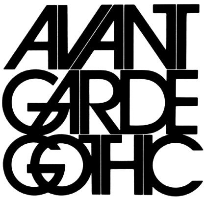 Herb Lubalin - Avant Garde Gothic - 1968